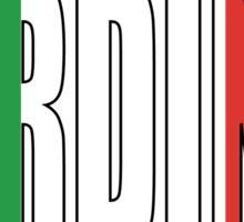 Sardinia. Sticker