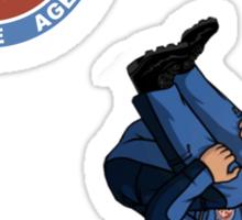 Zone of Danger Sticker