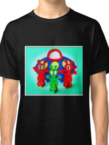 The Aliens Have Landed And they'd Like To Say Hello Classic T-Shirt