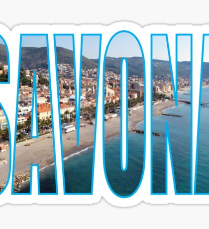 Savona Sticker