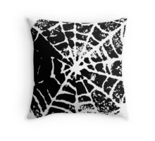 Cobwebs Throw Pillow