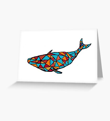 Whale, I guess Greeting Card
