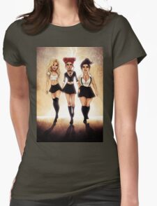 We are the weirdos, sistahs! Womens Fitted T-Shirt
