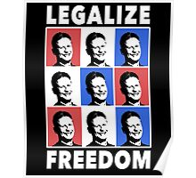 Gary Johnson 2016 | Legalize Freedom Poster