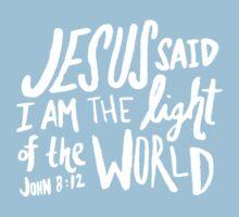 John 8: 12 x Mint One Piece - Short Sleeve