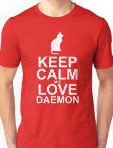 Keep Calm and Love Daemon Unisex T-Shirt