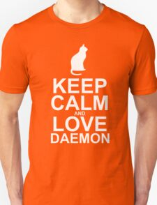 Keep Calm and Love Daemon Unisex T-Shirt