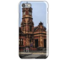 the train station marybourgh victoria iPhone Case/Skin