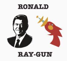 Ronald Ray-gun by luffnstuff