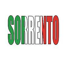 Sorrento. Photographic Print