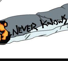 FLCL - Never Knows Best Cigarette Sticker