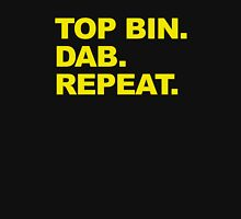 Top Bin. Dab. Repeat. Unisex T-Shirt