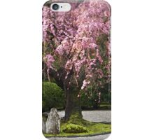 Cherry Blossoms in a Japanese Garden iPhone Case/Skin