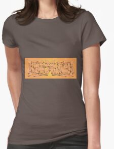 Kung Fu Theater Womens Fitted T-Shirt