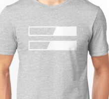 Inequality Symbol by Collin J. Foster Unisex T-Shirt