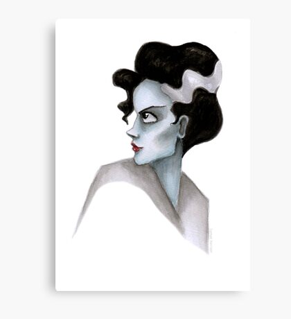 Bride of Frankenstein Canvas Print