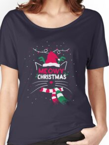 Meowy Christmas 2016 Women's Relaxed Fit T-Shirt