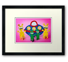The Aliens Have Landed And they'd Like To Say Hello III Framed Print