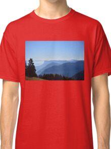Blue Mountain Haze Classic T-Shirt