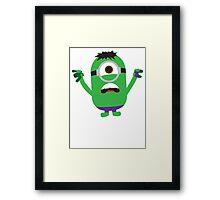 Hulk Minion Framed Print