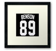 Ashley Benson: Jersey Style Framed Print