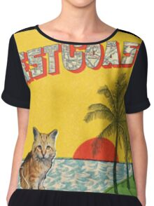 Best Coast (crazy for u cover) Chiffon Top