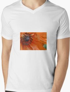 Poppy Mens V-Neck T-Shirt