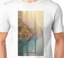 Tree In The Fog Unisex T-Shirt