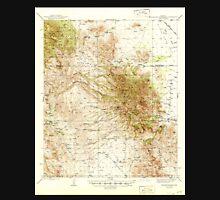 USGS TOPO Map Arizona AZ Winchester Mts 315190 1945 62500 Unisex T-Shirt