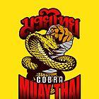 Cobra Muay Thai Thailand Animal Totem by lu2k