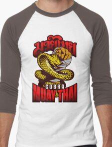 Cobra Muay Thai Thailand Animal Totem Men's Baseball ¾ T-Shirt