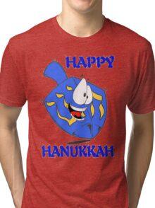 Happy Hanukkah Tri-blend T-Shirt