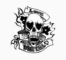 Metalhead Skull Love Women's Tank Top