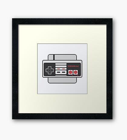 Nes - Still Addicted Framed Print