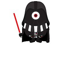 Vader Minion Photographic Print