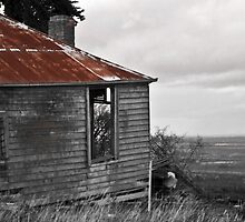 Dilapidated Cottage by S Ryan