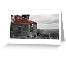 Dilapidated Cottage Greeting Card