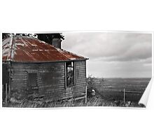 Dilapidated Cottage Poster