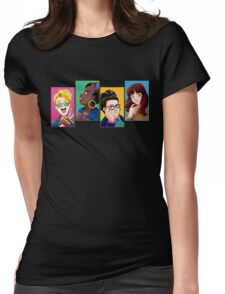 New Busters Head Shots Womens Fitted T-Shirt