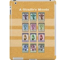 A Giraffe's Moods iPad Case/Skin