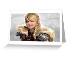 Astrid How to Train Your Dragon Greeting Card