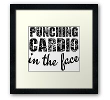 Fitness Enthusiasts Gym Workout Cool Funny T-Shirts and Gifts Framed Print