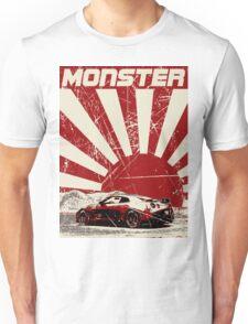 Nissan GTR monster Unisex T-Shirt