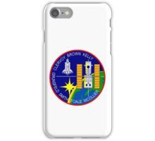 STS-103 Space Shuttle Discovery Mission Patch iPhone Case/Skin