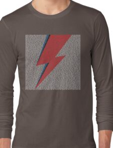 Flash Lyrics - David Bowie Lyric Long Sleeve T-Shirt