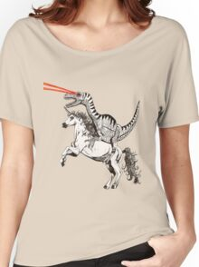 Raptor & Unicorn Women's Relaxed Fit T-Shirt