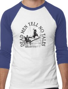 Walking the Plank Pirate Men's Baseball ¾ T-Shirt