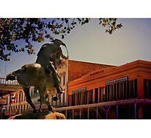 Pony Express Photographic Print