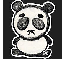 Little Sad Panda Photographic Print