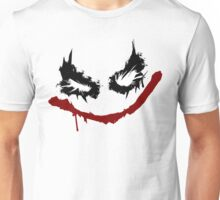 Joker inspired graffiti tag Unisex T-Shirt